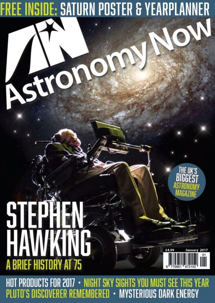 Astronomy Now - Stephen Hawkings