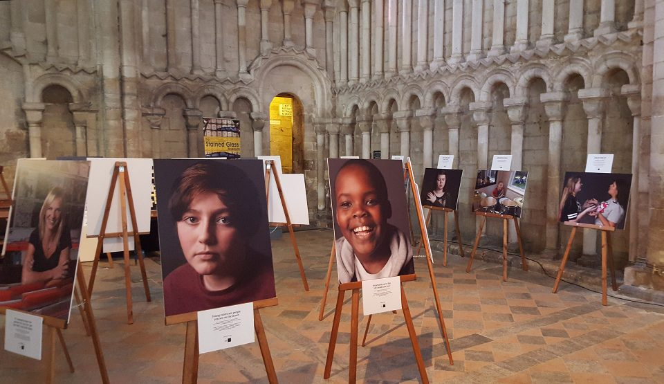 Hidden Exhibition at Ely Cathedral