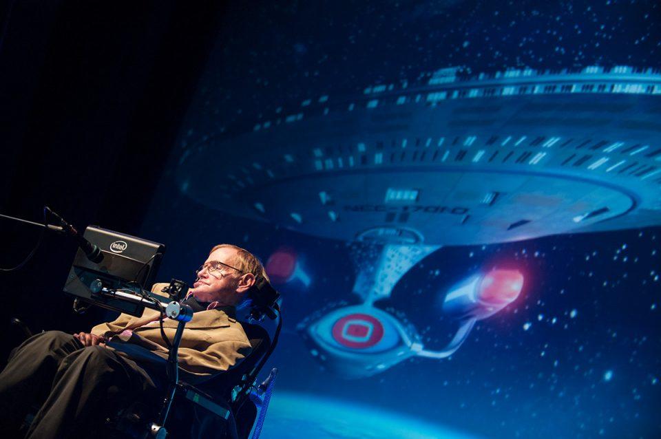 Stephen Hawking at Tenerife
