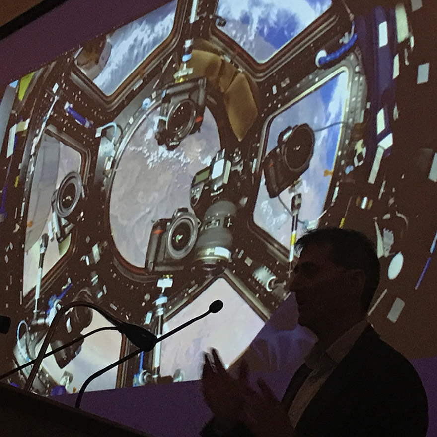 Max Alexander talk at the Royal Astronomical Society on The View From Space